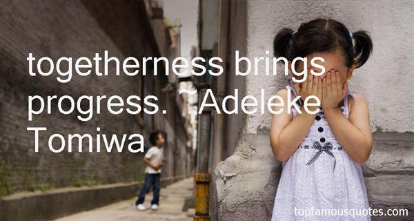 Adeleke Tomiwa Quotes