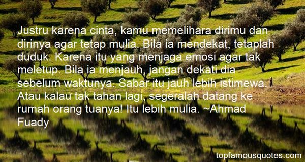 Ahmad Fuady Quotes
