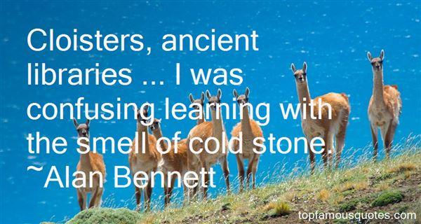 Alan Bennett Quotes