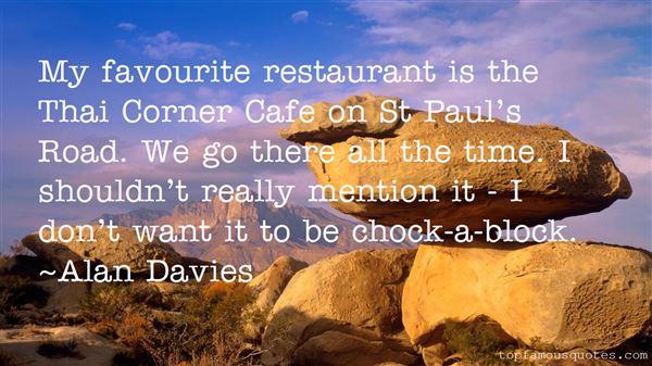 Alan Davies Quotes