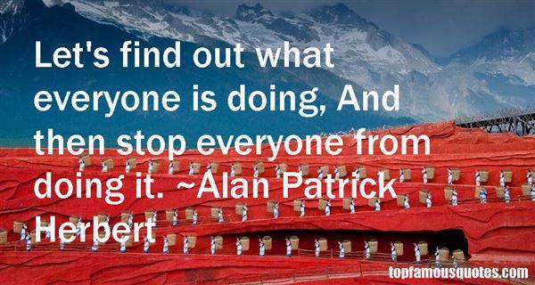 Alan Patrick Herbert Quotes