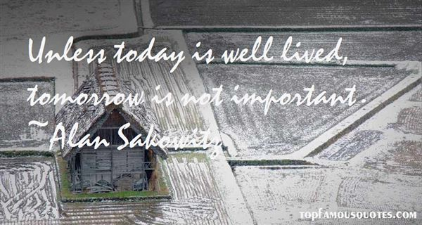 Alan Sakowitz Quotes