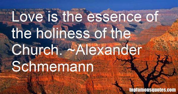 Alexander Schmemann Quotes