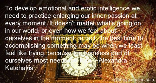 Alexandra Katehakis Quotes