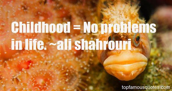 Ali Shahrouri Quotes