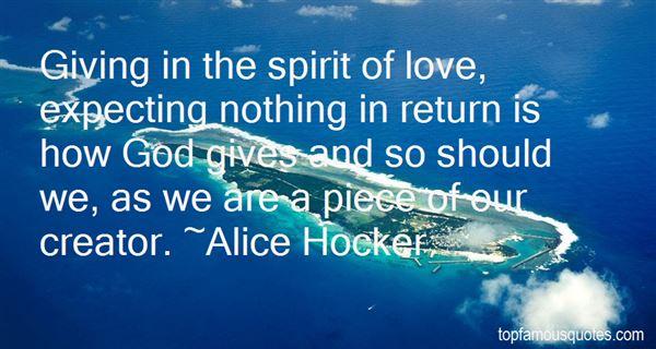 Alice Hocker Quotes
