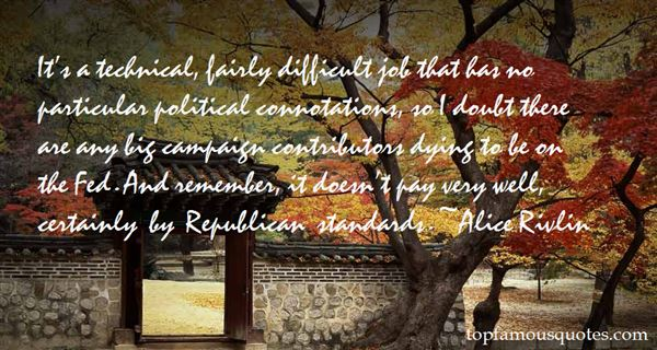 Alice Rivlin Quotes