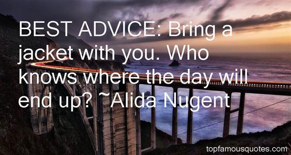 Alida Nugent Quotes