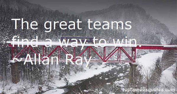 Allan Ray Quotes
