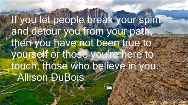 Allison DuBois Quotes