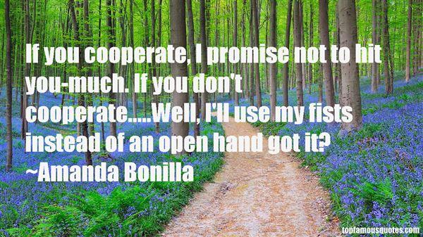 Amanda Bonilla Quotes