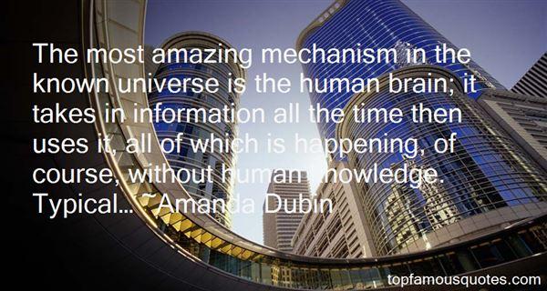 Amanda Dubin Quotes
