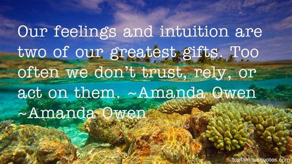 Amanda Owen Quotes