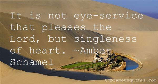 Amber Schamel Quotes