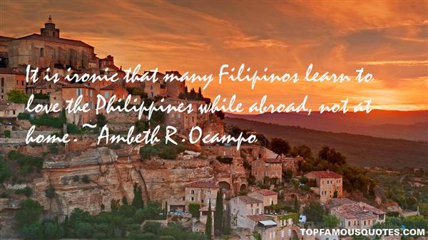 Ambeth R. Ocampo Quotes