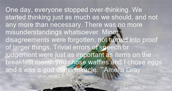 Amelia Gray Quotes