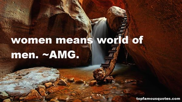AMG. Quotes