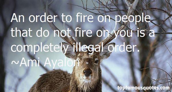 Ami Ayalon Quotes