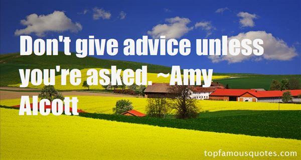 Amy Alcott Quotes