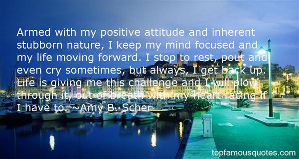 Amy B. Scher Quotes