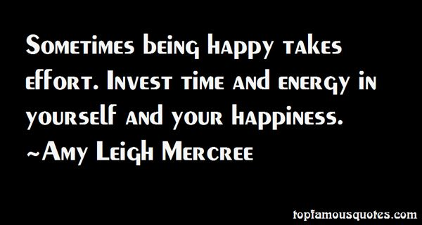 Amy Leigh Mercree Quotes