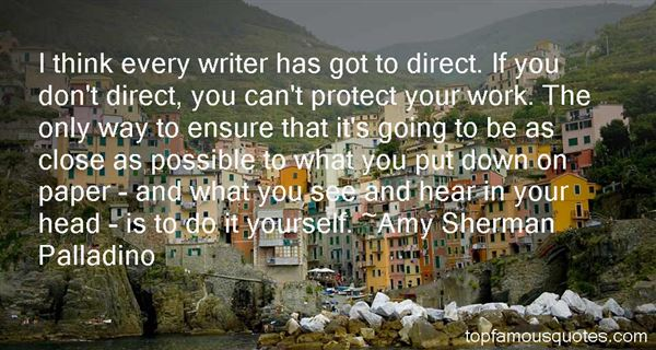 Amy Sherman Palladino Quotes