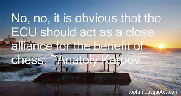 Anatoly Karpov Quotes