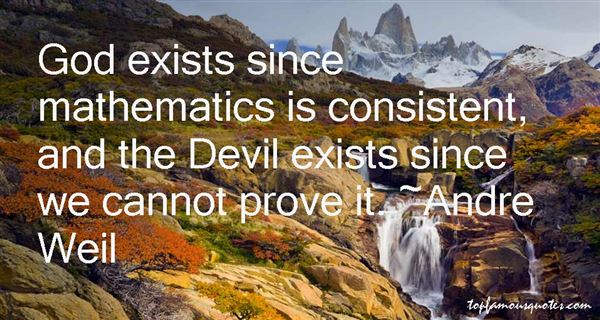 Andre Weil Quotes