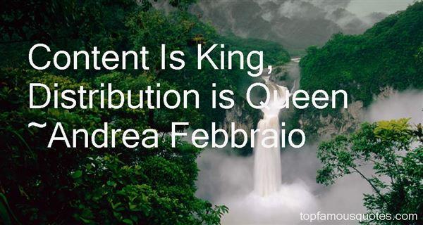Andrea Febbraio Quotes