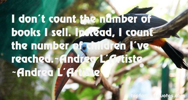 Andrea L'Artiste Quotes