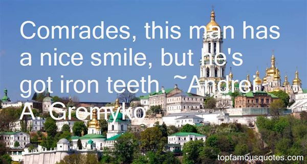 Andrei A. Gromyko Quotes