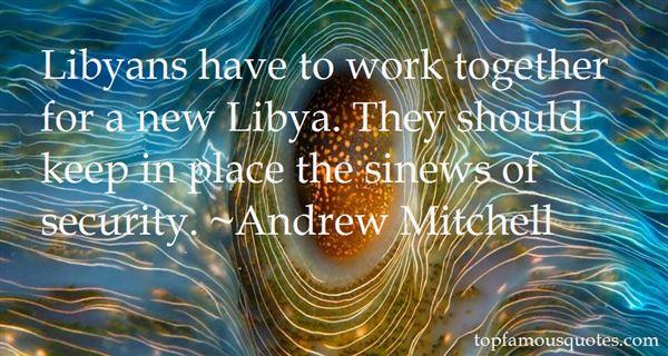 Andrew Mitchell Quotes