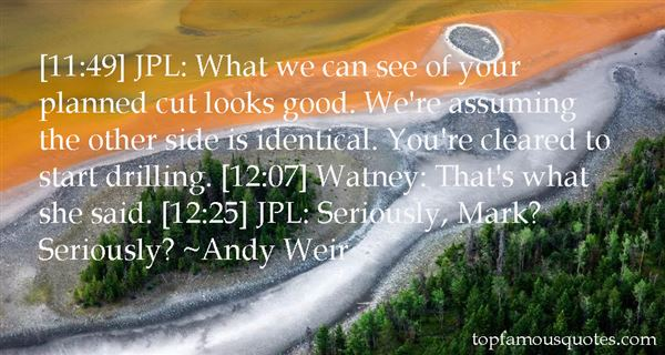 Andy Weir Quotes