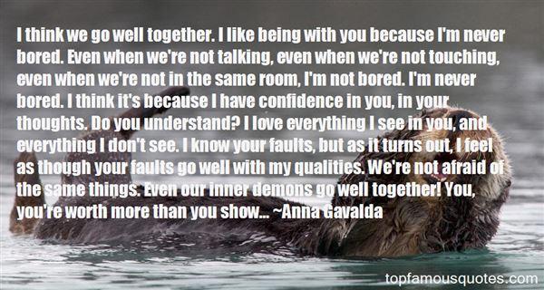 Anna Gavalda Quotes