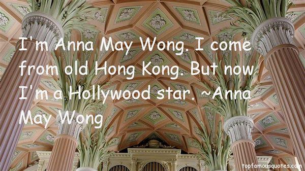 Anna May Wong Quotes