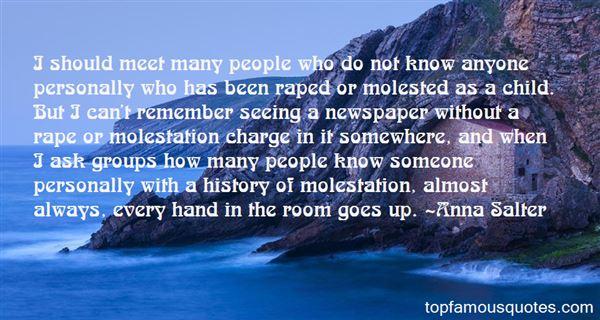Anna Salter Quotes
