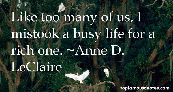 Anne D. LeClaire Quotes