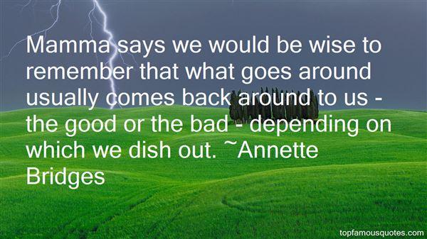 Annette Bridges Quotes