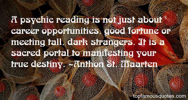 Anthon St. Maarten Quotes