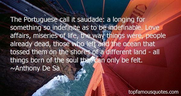 Anthony De Sa Quotes