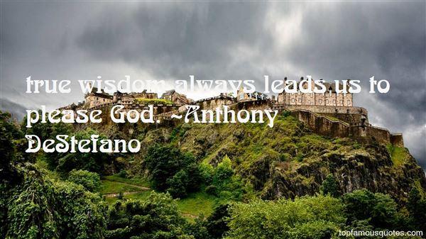Anthony DeStefano Quotes
