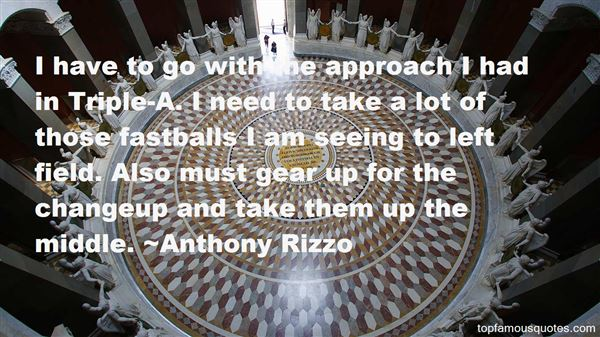 Anthony Rizzo Quotes