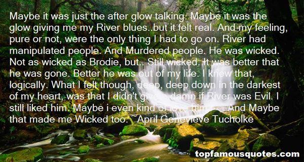 April Genevieve Tucholke Quotes