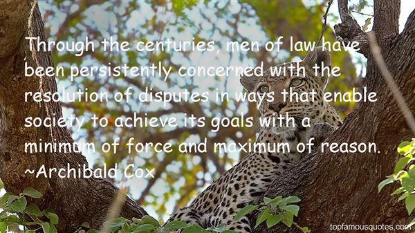Archibald Cox Quotes