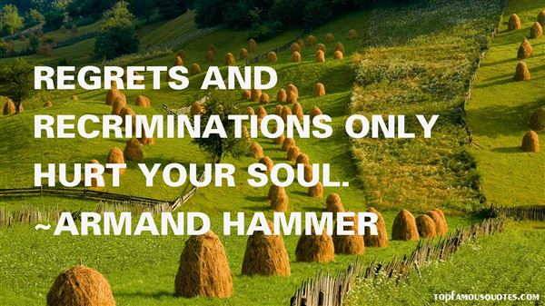 Armand Hammer Quotes