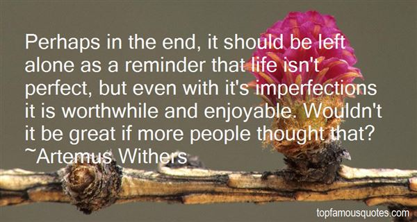 Artemus Withers Quotes
