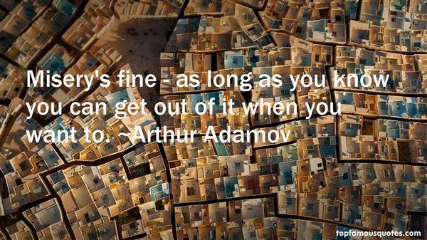 Arthur Adamov Quotes