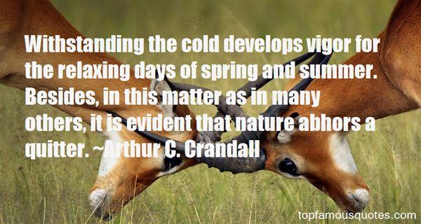 Arthur C. Crandall Quotes