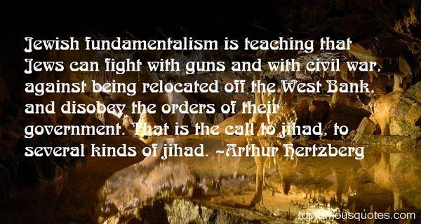 Arthur Hertzberg Quotes