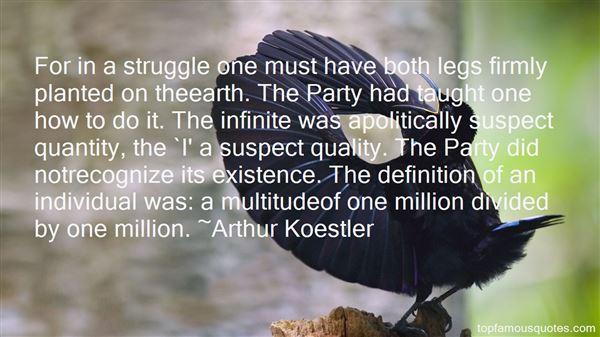 Arthur Koestler Quotes